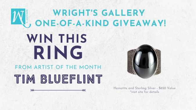 Wright's Gallery One-of-a-Kind Giveaway